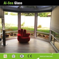 China Factory Whole Sale Used Large Commercila Building Curtain Wall Or Interior Window/Door Tempered Low-e Insulated Glass