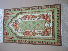 Hand embroidery prayer rug/Small embroidery rug/Tapestry/Mat/home decorative products