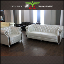 high classic chesterfield sofa, leather sofa living room furniture,
