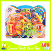 new style led spinning top gun flying disk shooter toy
