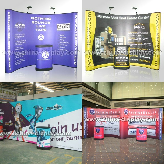Exhibition Booth Size : Portable exhibition booth stand solutions customized size