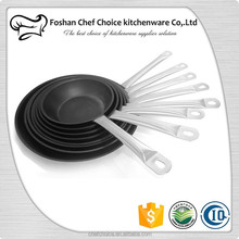 Teflon Non-stick Frying Fish Pan Resturant Non-stick Oil Free Frying Pan Liner Design Catering Oil Free Frying Pan Factory Price