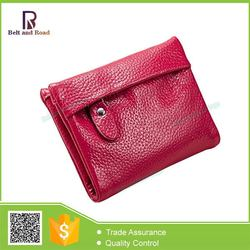 Best price excellent quality genuine leather lady/women/girl wallet