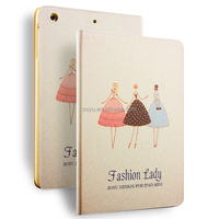 High quality PU leather smart cover case protective for ipad air2 cases