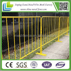china supplier extremely stable and much safer crowd control stainless steel barriers