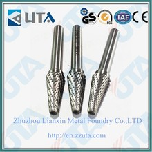 good quality rotary tungsten carbide file double cut cutting tools
