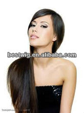 Fashion Blonde Long Wavy Human hair full lace wig