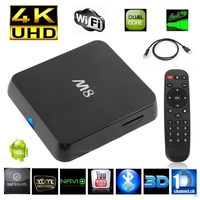 OEM XBMC Pre-installed EM8 Android 4.4 Kit Kat TV Box M8 Amlogic S802 Quad Core Media Player 2G/8G Dual WiFi 4K BT 4.0