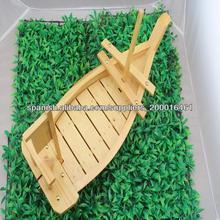 bambú barco de sushi