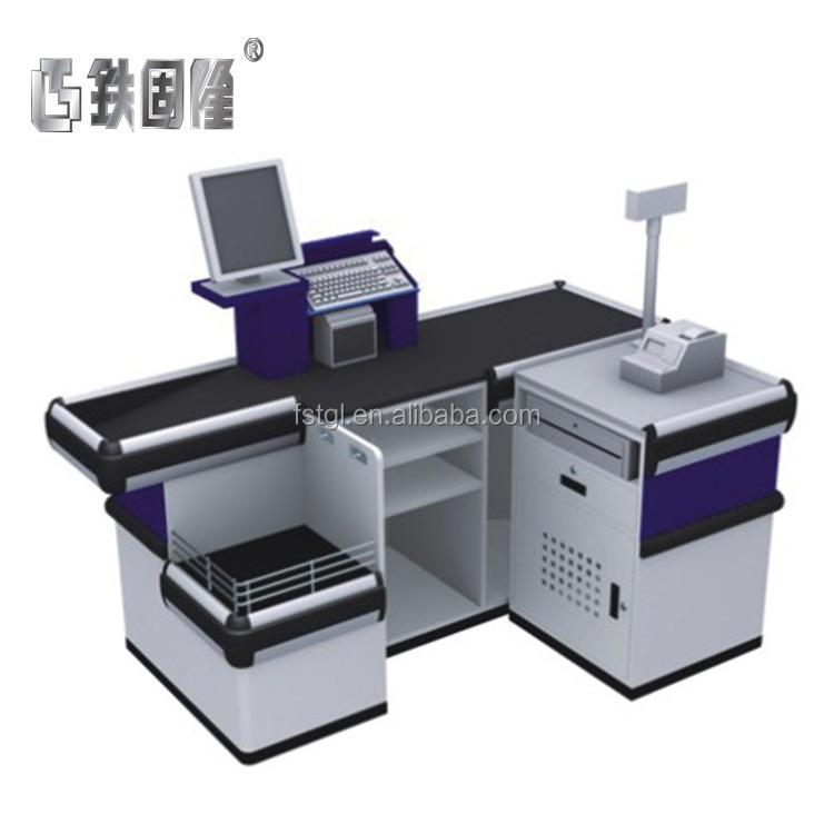 Prix direct usine conception de comptoir de caisse caisse à vendre