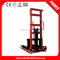 NBO manual pallet stacker, stacker machine, manual hand stacker forklift for sale
