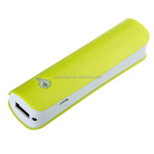 2012 hot Pocket power bank 2600 power bank