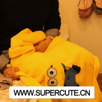 Portable Despidable ME design blanket manufacture in Guangzhou