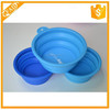 2015 Hot sale product convenient for carry silicone dog travel bowl