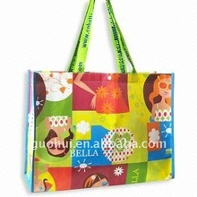 fancy cartoon laminated shopping bag