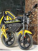 folding 2 wheels motorcycle with electric power cheap 1500W
