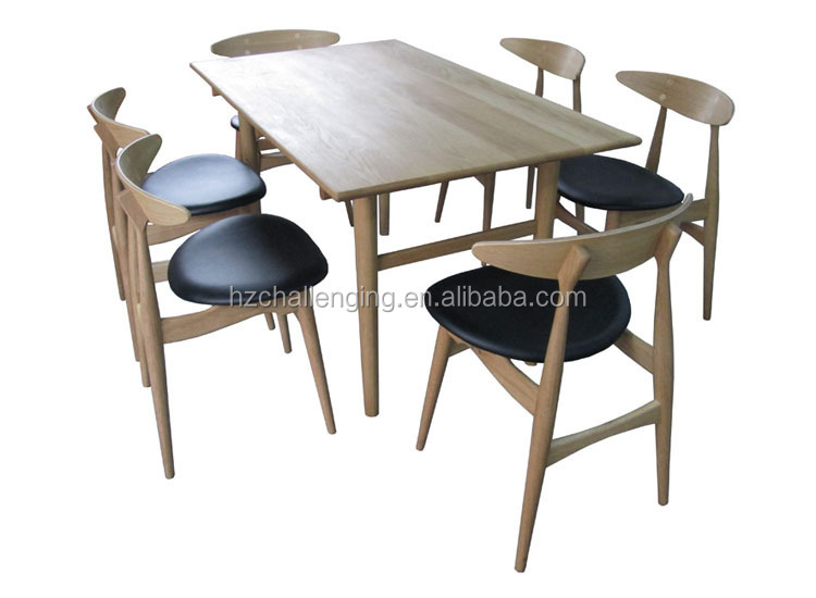 t015 longue et troite en bois table manger con oit morden table manger table en bois id de. Black Bedroom Furniture Sets. Home Design Ideas