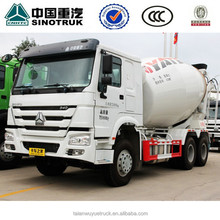 SINOTRUK HOWO Concrete Mixer Truck 8 Cube meter to 16 Cube meter for sale