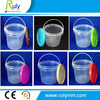 2L food packing printed plastic pail