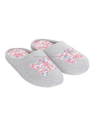 Butterfly pattern women' indoor slipper mule