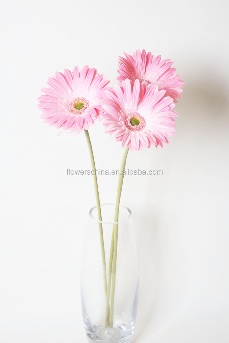 Mini Gerbera Daisy Artificial Flower Arrangements In Vase And Pot