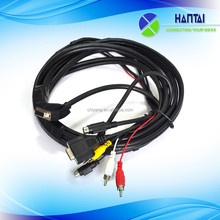 Best seller vga cable max resolution to red white yellow cable