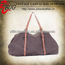 2014 new arrival washed canvas big travel bag for travelling manufacture in Guangzhou