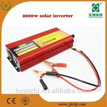 2000W modified sine wave solar inverter with solar charge controller built in