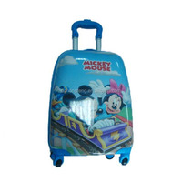 wholesale school bag ABS hard case kids trolley hard case luggage bag