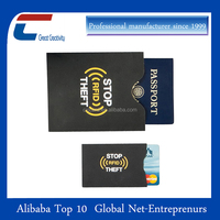 Anti rfid hacking rfid blocking credit card sleeves rfid sleeves for credit cards