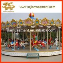 24 asientos de lujo carrusel de caballos para el parque de atracciones