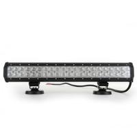 12V 24V 126w Offroad Led light bar for truck Boat light