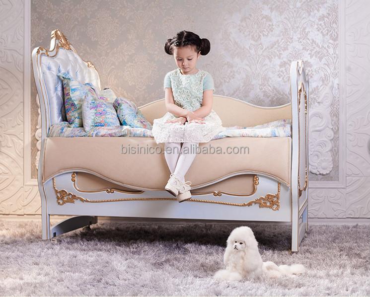 Luxe royal style europ en royale b b chambre meubles luxe lit b b lit barreaux b b id de for Chambre luxe bebe