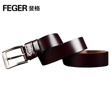 Top quality latest design original men leather belt for sale