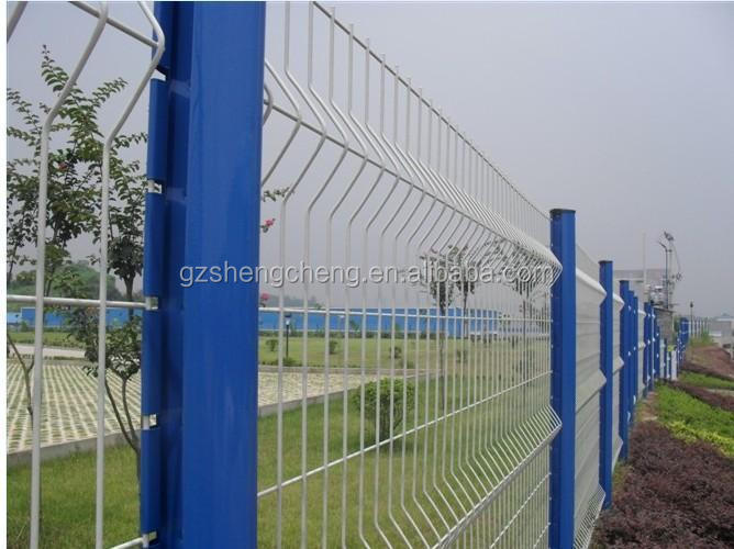 Parrilla puerta de diseño de alambre cercas de malla cercas para ...