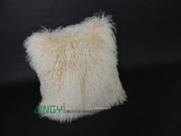 Wholesale Tibetan Mongolian Lamb Fur Cushion Cover