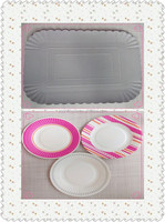 High qality wholesale price disposable Rectangular paper plates