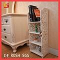 Mobiliário atacado barato decorativos prateleira cubo de madeira