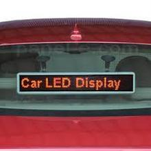 2015 New products P6 Taxi top led/taxi top led screen/advertising display for car with duel side advertising Led Panel