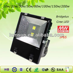 MW Driver 50w ip65 waterproof led flood lights outdoor