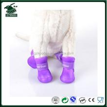 2015 hot selling rubber outdoor waterproof dog sock dog shoe,dog rain boot,pet product