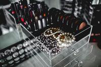 mac makeup display stand