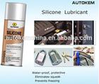 Silicone lubrificante spray de aerosol spray de lubrificante à base de óleo de silicone