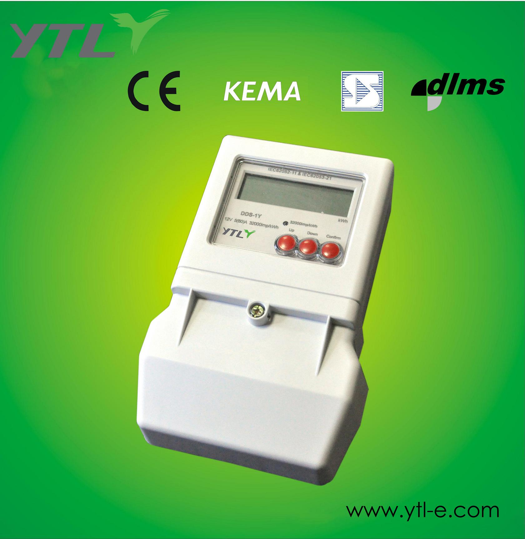 Single Phase Power Meter : Single phase electric meter for solar system