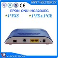 epon onu الألياف البصرية ftth 1fxs+1fe+1ge عبارة الموجه الشبكة المنزلية
