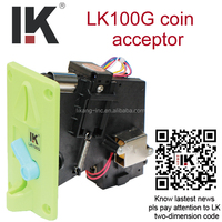 on factory price !! LK100G electrical/mechanism coin acceptor used in condom vending machine