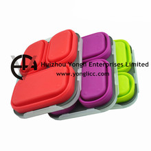 Durable In Use Silicone Camping Storage Bins
