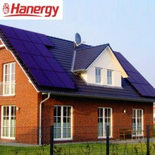 Hanergy thin film power 12kw pv solar system with solar photovoltaic panels