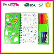 Perfect oem drawing filling book, kid's drawing filling book, color pens drawing filling book