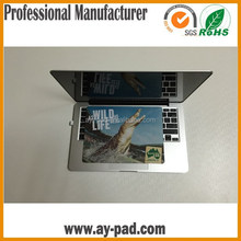 AY Natural Rubber Colorful Laptop Mouse Mat, Factory Mass Produce pp Custom Microfiber Mouse Pad